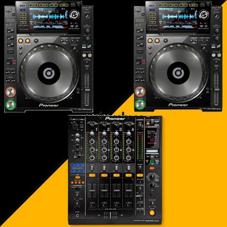 Pack DJ - PIONEER 2