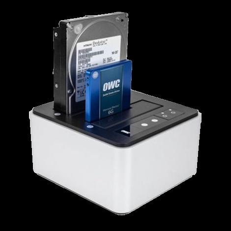 Dock(s) OWC Thunderbolt 2 et USB 3 pour 2 disques dur SSD