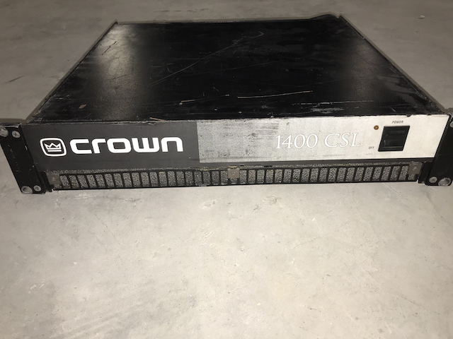 Amplificateur Crown 1400 CSL
