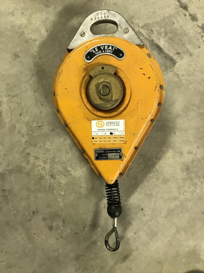 Antichute jaune EPSYLEV s20