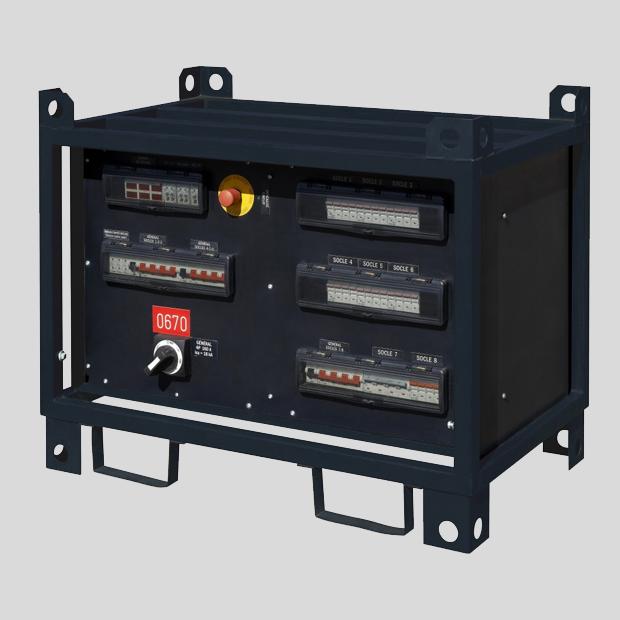 Armoire électrique 160A-650A