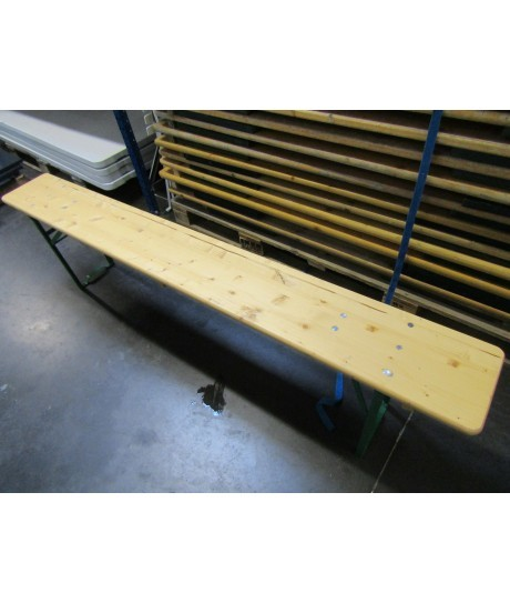 Banc(s) en bois de 2m de longueur