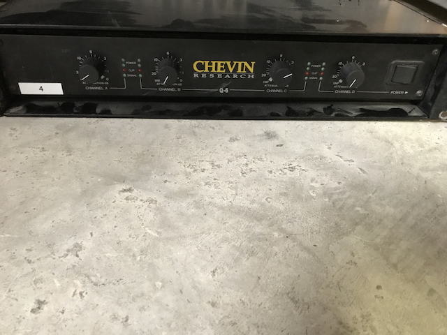 Amplificateur CHEVIN Q6
