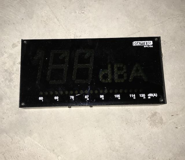 Sonomètre DATEQ SPL-D2