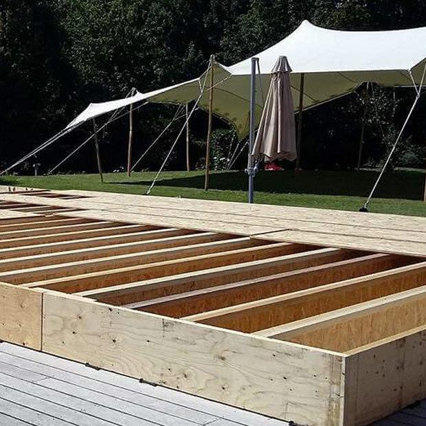 Plancher couverture piscine