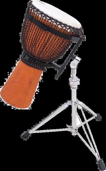 Djembe(s) bois Mali peau naturel avec stand