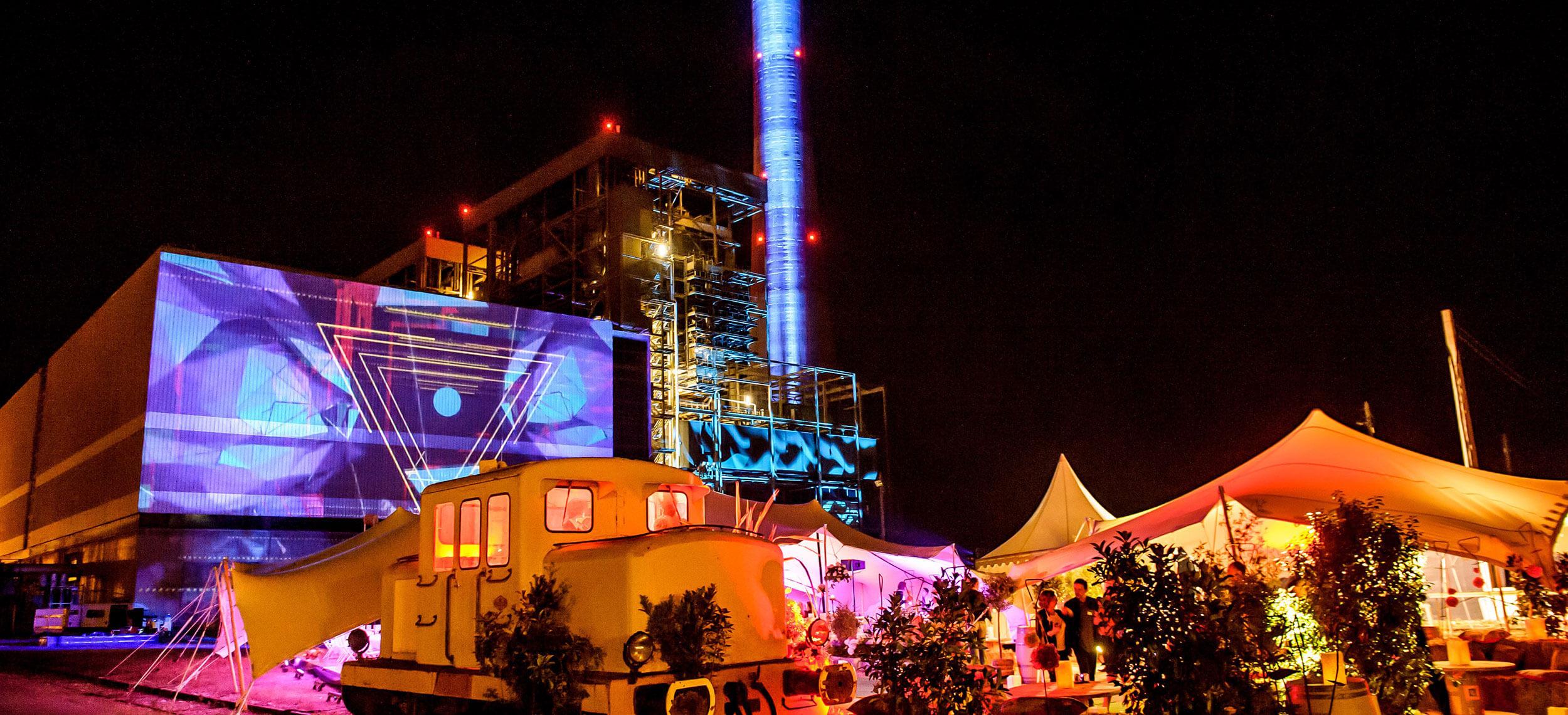 Evénement EDF, centrale d'Aramon