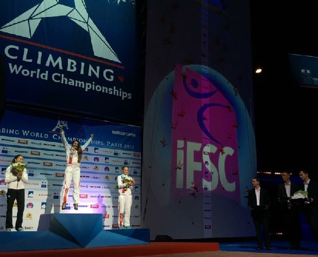 Championnat du monde d'escalade IFSC - Paris