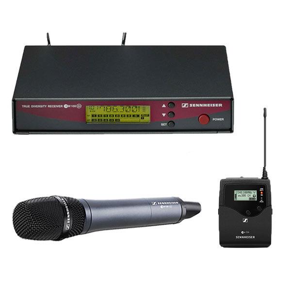 HF Sennheiser EW100 / E835 / 1 pocket