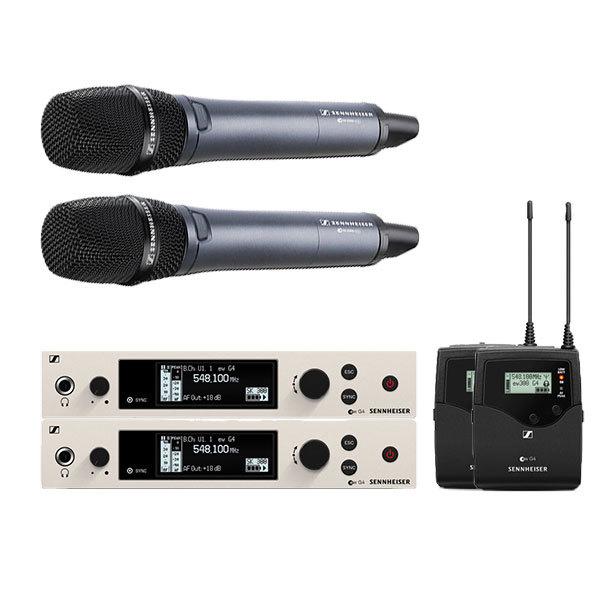HF Sennheiser EW300 / E865 / 2 pockets
