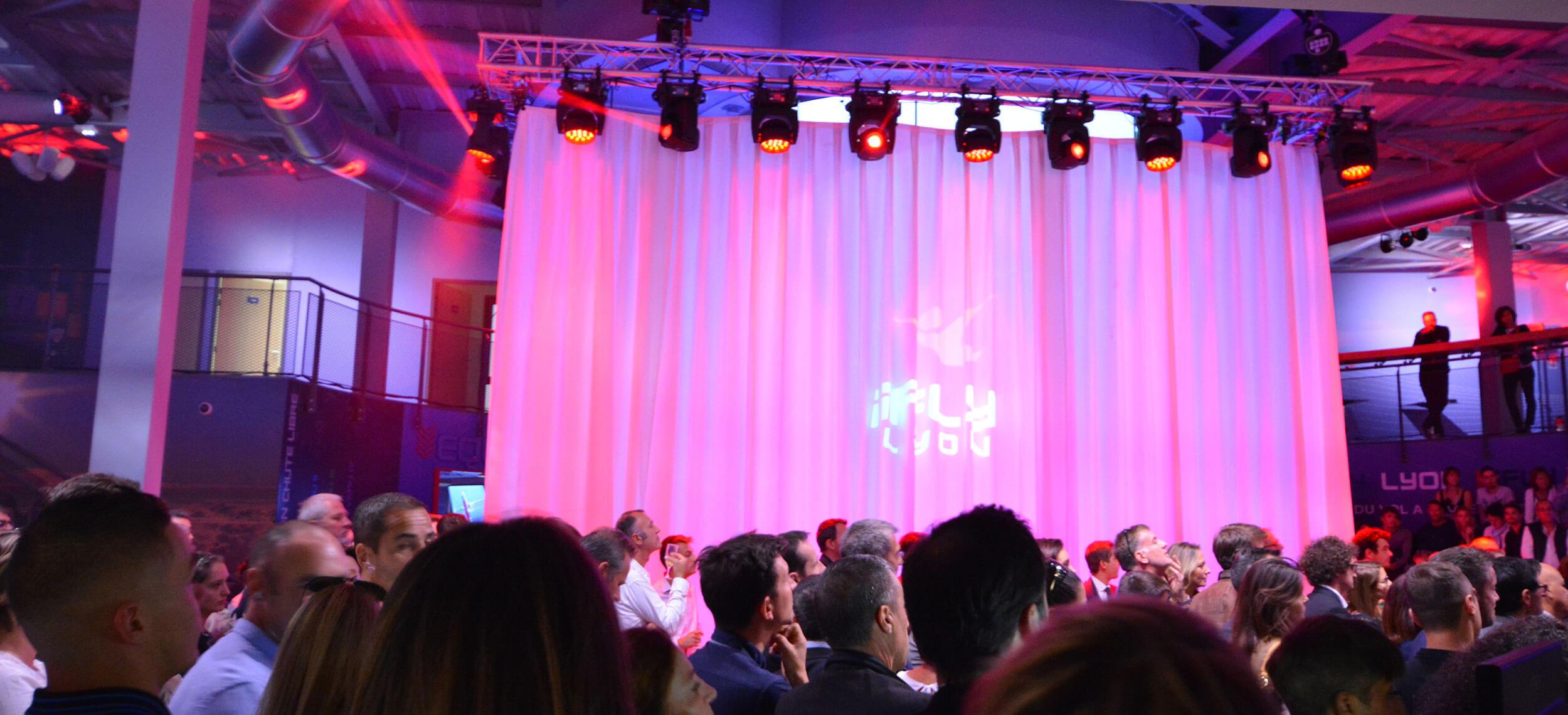 Inauguration IFLY Lyon Chute libre indoor