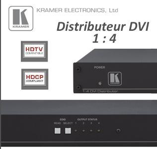 Pub - Distributeur DVI 1:4 kramer