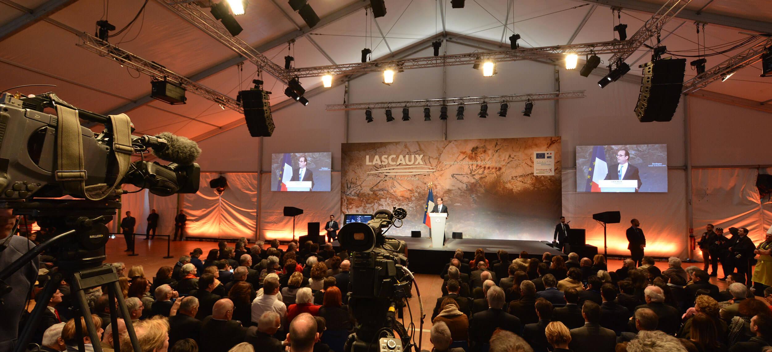 Inauguration Lascaux IV