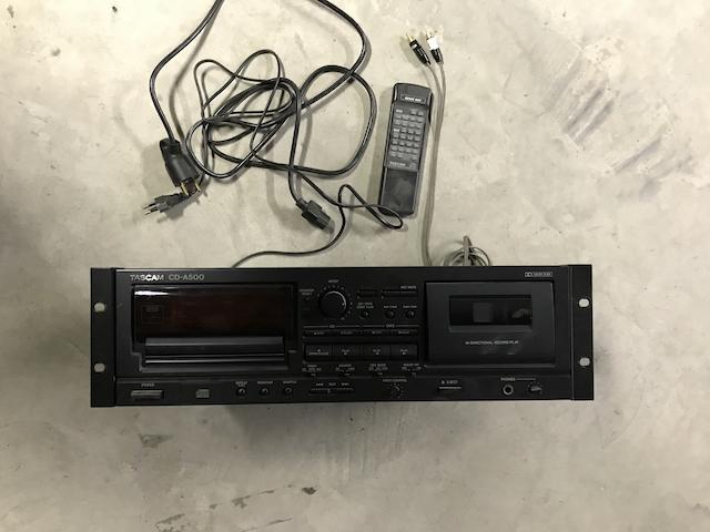 Lecteur TACSAM CD-A500
