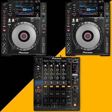 Pack DJ - PIONEER 3