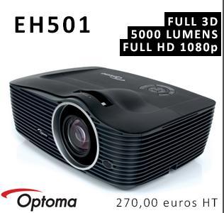 Pub - Optoma EH501