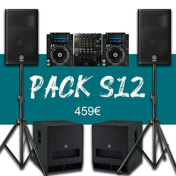 Pack 200P + Régie DJ Pro