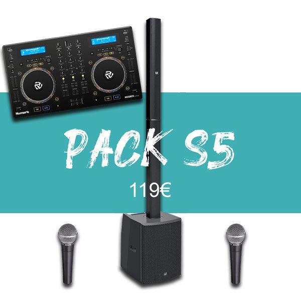 Pack 50P + Régie DJ