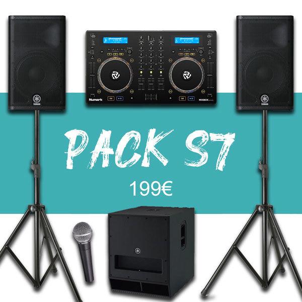 Pack 150P + Régie DJ