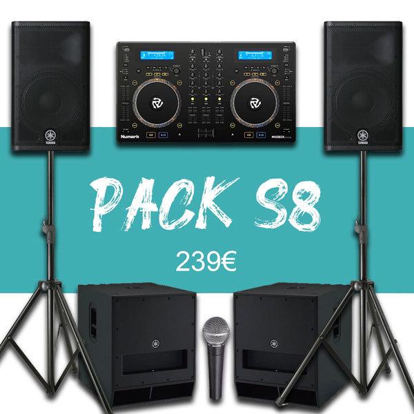 Pack 200P + Régie DJ