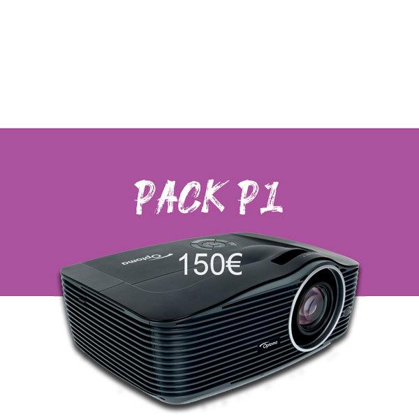 Pack vidéo projection