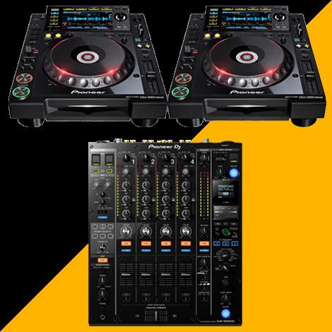 Pack DJ - PIONEER 1