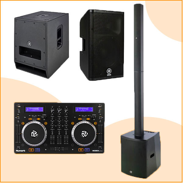 Pack location sonorisation