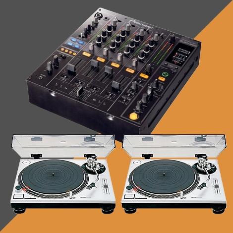 Pack régie DJ - VINYLS