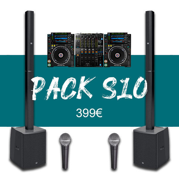 Pack 100P + Régie DJ Pro