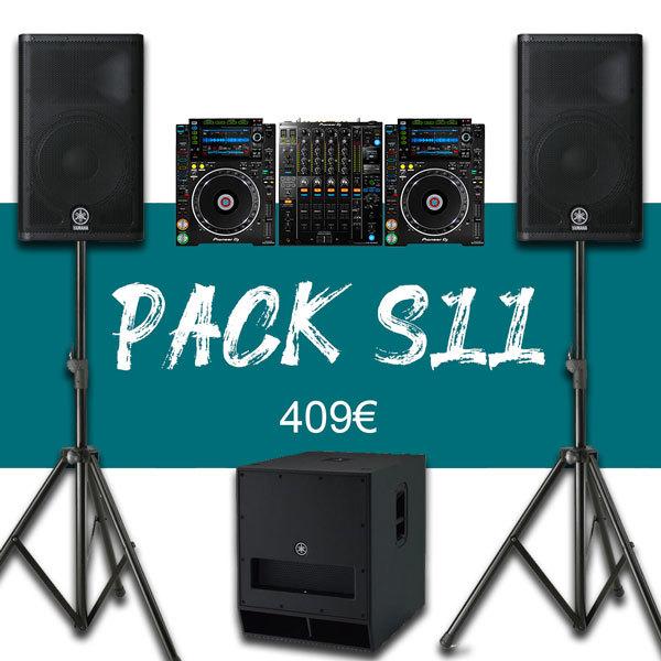 Pack 150P + Régie DJ Pro