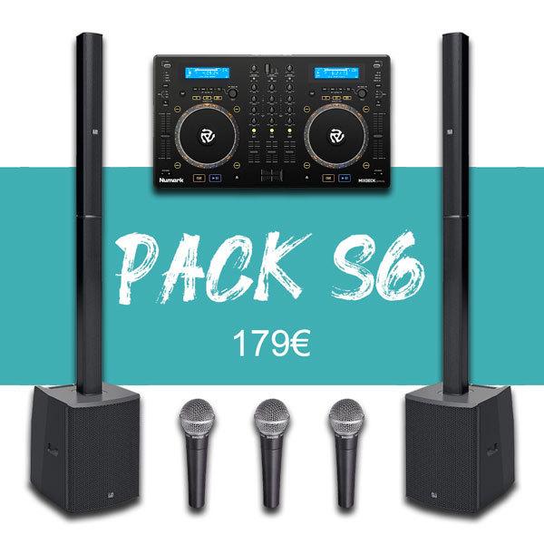 Pack 100P + Régie DJ