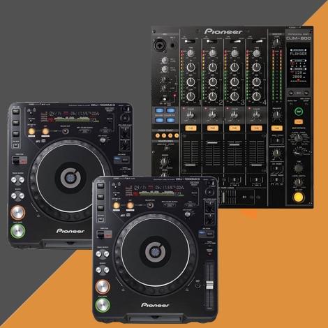 Pack régie DJ - PIONEER