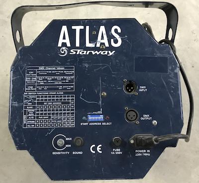 Projecteur d'effet STARWAY ATLAS