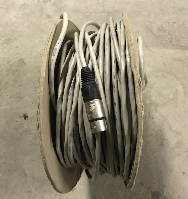 Rouleau UTP flex 100m Ctg 5 Patch Cable