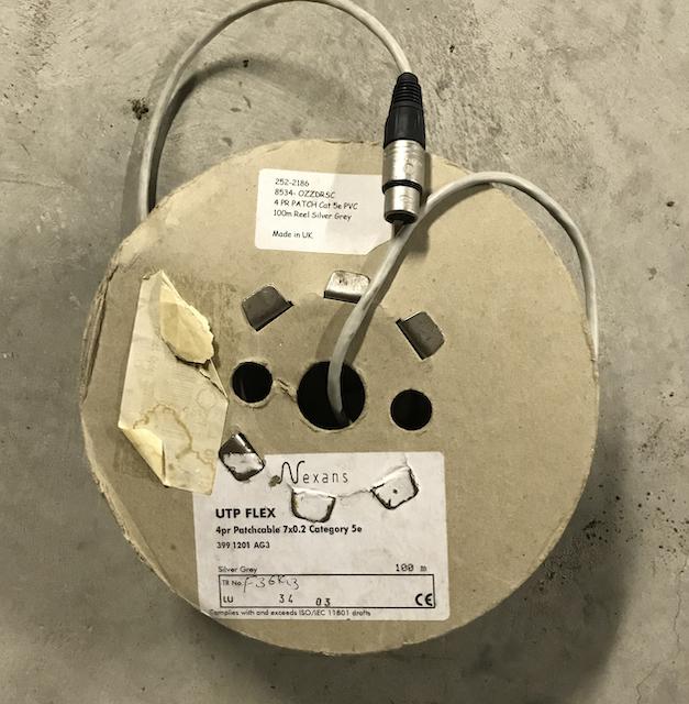 Rouleau UTP flex 100m Ctg 5 Patch Cable