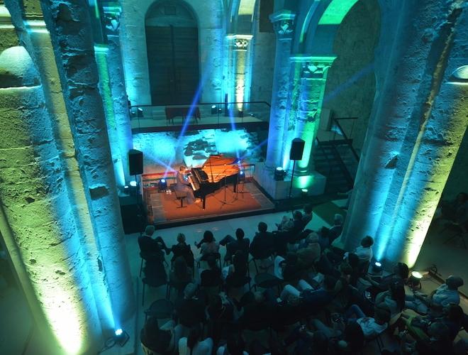 Concert à l'abbatiale de Cruas
