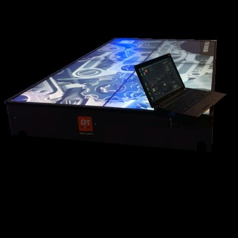 Table vidéo 4 écrans