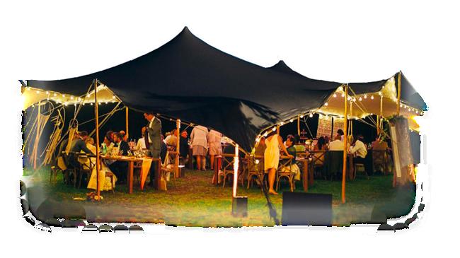 Tente, structure châpiteau