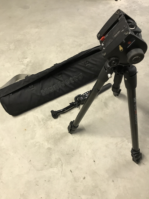 Trépied MANFROTTO 442L carbon one