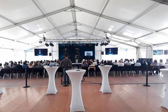 CNR Sauveterre, Inauguration de la passe à poissons