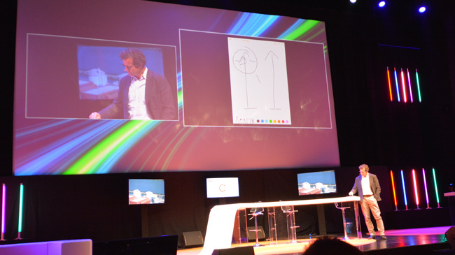 Diffusion vidéo sans fils avec Ipad
