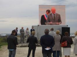 Inauguration ferme photovoltaïque, Séchilienne Sidec