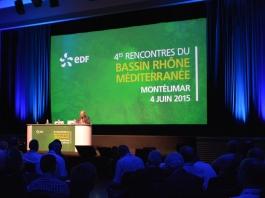 EDF, 4èmes Rencontres du Bassin Rhône Méditerranée