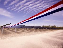 CNR, Inauguration du parc photovoltaïque de Donzère