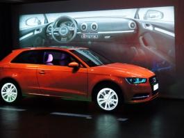 Lancement A3 Audi, GENIN