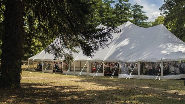 Tente orangerie